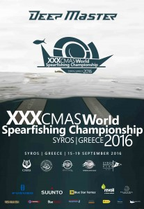 XXX CMAS World Spearfishing Championship SYROS 2016