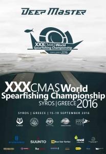 XXX CMAS World Spearfishing Championship SYROS 2016